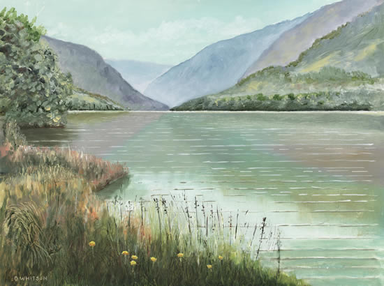 Glendalough Co Wicklow Lake and Mountains - National Park in Ireland - Art Prints